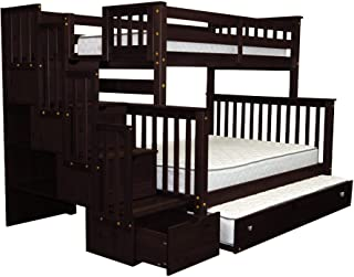Best triple bunk beds with steps Reviews