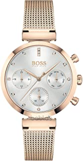 Hugo BOSS Women's Analogue Quartz Watch with Stainless Steel Strap 1502553
