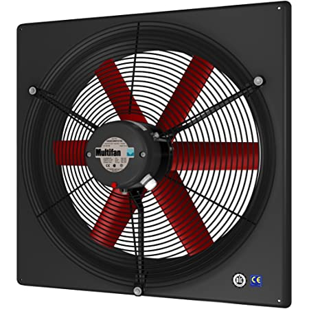 Multifan V4E30K1M71100 Panel Fan, 120V, 12