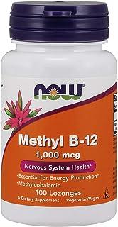 Now Foods Methyl B-12, 1,000 mcg, Lozenges, 100ct