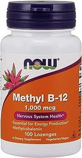 Now Supplements, Methyl B-12 1000 mcg, 100 Lozenges