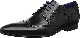Ted Baker Men's Ollivur Leather Lace up Formal Brogue Shoe Black