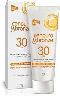 Cenoura e Bronze Protetor solar facial diário, 30 FPS