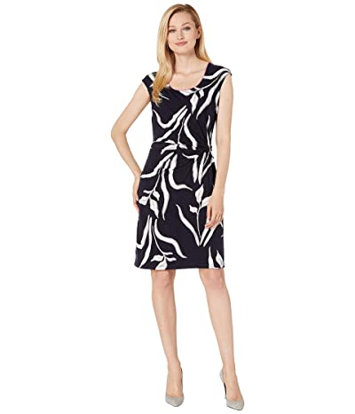 NIC+ZOE Iris Twist Dress (Multi) Women