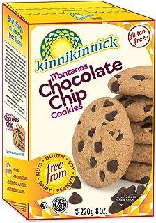 Kinnikinnick Montanas Gluten Free Chocolate Chip Cookies - Case of 6 - 8oz/220g pkgs