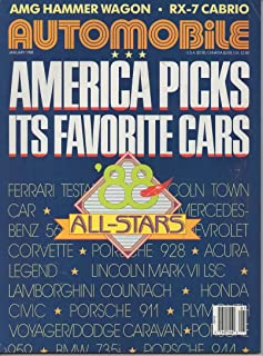 Automobile Magazine, January 1988 (Vol 2, No 10)