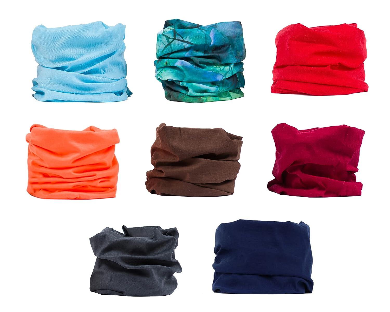 Headwear, Magic Scarf, Seamless Sports Bandana, Head Wrap, Hair Buff, Helmet Liner, Wide Headbands for Yoga, Running, Fishing, Motorcycling