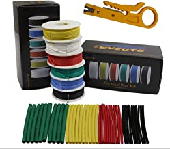Silicone Hook up Electric Wire Cable (Solid Wire) 24 Gauge 6 Colors 26.2 feet Each Wires 24 AWG WYEUTO