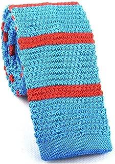 7# Azul Lago Xzwdiao Corbatas Pa/ñuelo De Seda De Poli/éster con Pa/ñuelo De Bolsillo De Color Liso para Hombres