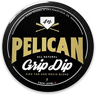 Pelican Bat Wax Grip Dip Pine Tar and Rosin Blend 4 Ounce. Grip Enhancer