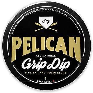 Pelican Bat Wax Grip Dip Pine Tar and Rosin Blend 4 Ounce. Grip Enhancer