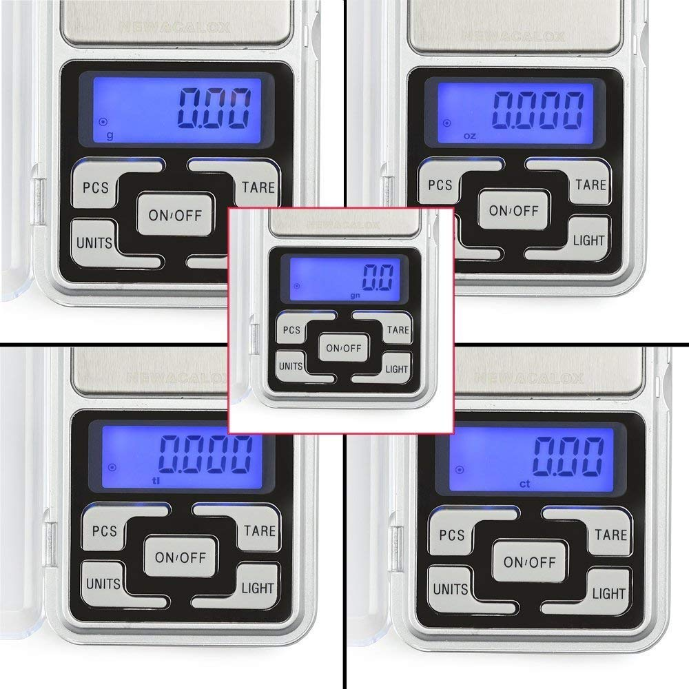 U-HOOME Digital Scale,Scale Weight grams High Accuracy 0.01g-500g Portable Kitchen Pocket Scale LCD Display for Food,Jewelry,Coffee,Tea,Pill,Nutrition Scale