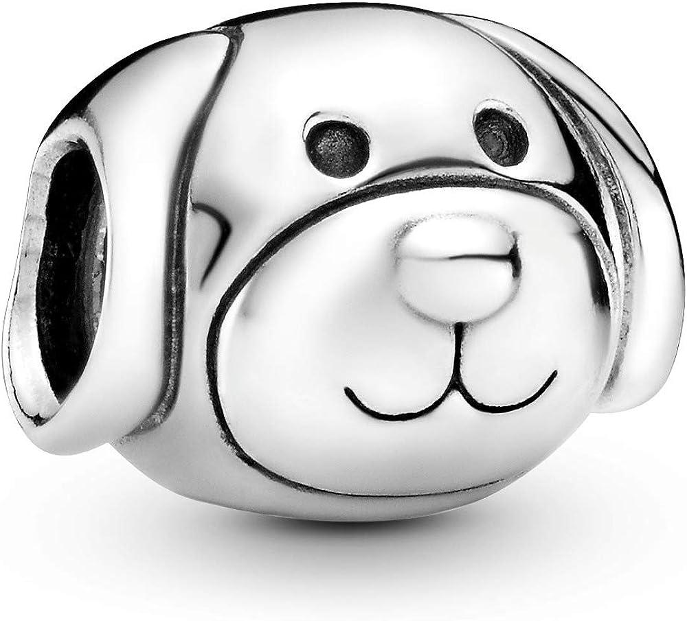 Pandora ciondolo charm cane fedele per donna in argento sterling 925 791707