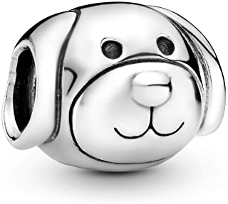 Pandora Women's Sterling Silver Friendly Dog Charm - 791707