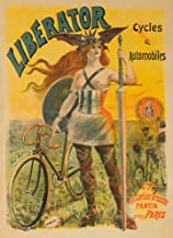 Liberator Cycles and Automobiles Vintage Poster (artist: Pal Jean De Paleologue) France c. 1899 62738 (16x24 SIGNED Print Master Art Print - Wall Decor Poster)