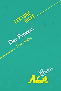 Der Prozess von Franz Kafka (Lektürehilfe): Detaillierte Zusammenfassung, Personenanalyse und Interpretation (German Edition)