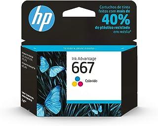 Cartucho HP 667 Colorido Original (3YM79AB)