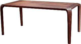 Shine Mount Table de salle à manger en bois véritable