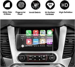 2015 2016 2017 2018 GMC Yukon XL INTELLILINK 8-Inch Car Navigation Screen Protector,GMC Infotaintment System RUIYA HD Clear TEMPERED GLASS Screen Protective Film