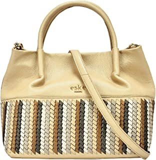 Eske Women's Handbag (Gold)