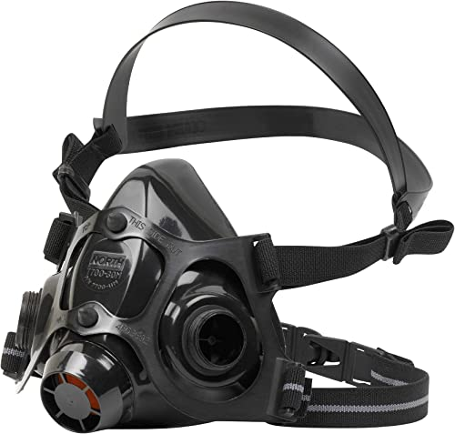 7700 Series Niosh-Approved Half Mask Silicone Respirator, Medium (770030M)