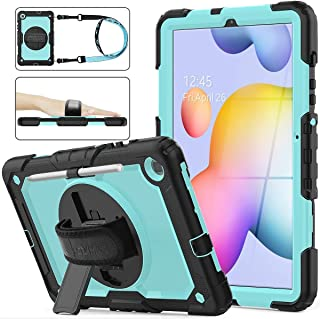 Galaxy Tab s6 Lite 10.4 Case with Screen Protector | AVAKOT Samsung Galaxy Tab S6 Lite Case with Pen Holder | Hard Rugged ...