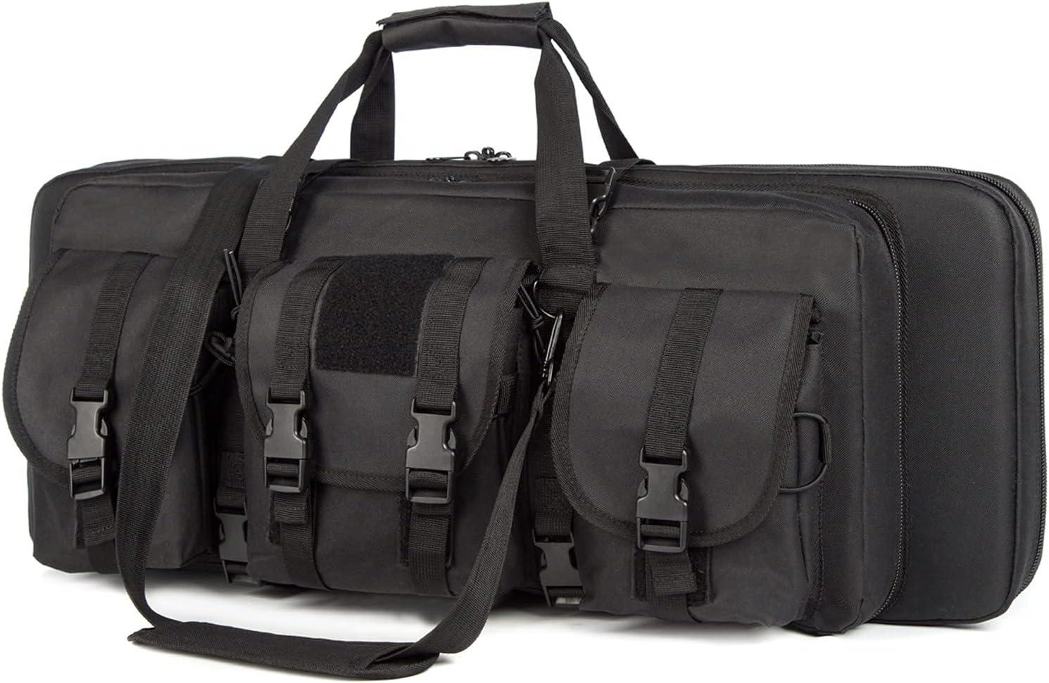 Houston Mall AIRTTUZ Double Rifle Case Tactical Rifles for Ri Large-scale sale Bag Gun Perfect