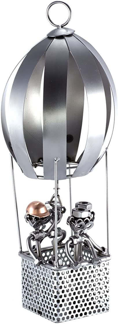 Soprammobile in metallo steelman24 i omini di viti mongolfiera i idee regalo B0020JW82M