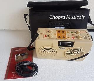 Electronic Tanpura/Tabla - RADEL Milan Digital Tabla Plus Tanpura, Digital Tabla and Tanpura Sound Machine, Tabla/Tanpura/Tambura Sampler, Instruction Manual, Bag, Power Cord