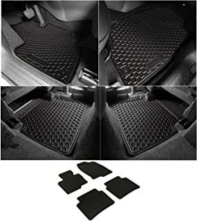 Bonbo Floor Liner Mats for Mazda CX5 2017-2019,Front and Rear Seat Floor Mats,Custom Fit,All Season,Heavy Duty Rubber,Odorless(Pack of 4)