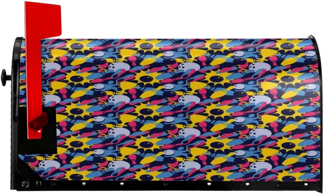 """NCXIAO Magnetic Mailbox Cover - 21""""W x Differe It is very Fresno Mall popular 25.5""""H"""