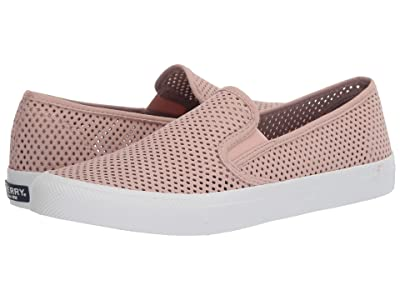 Sperry Seaside Perf Leather (Rose) Women