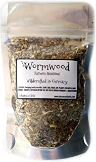Reiki Charged Wormwood Artemisia Absinthium Wildcrafted in Germany Loose Leaf Dried 0.5 oz bag Small Sample Tea