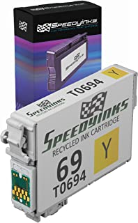 Speedy Inks Remanufactured Ink Cartridge Replacement for Epson 69 (Yellow)