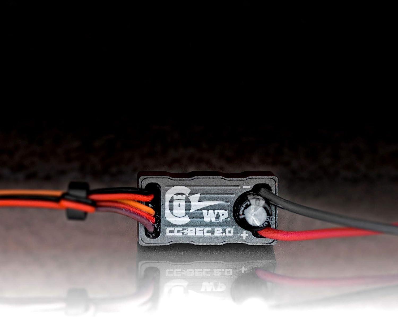 Servo wiring to castle bec Definitive wiring