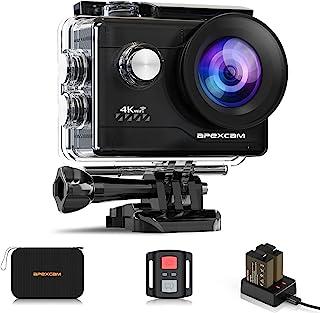 Apexcam 4K Action Cam 20MP WiFi Sports Camera Ultra HD onderwatercamera 40m 170° groothoek 2.4G afstandsbediening timelaps...