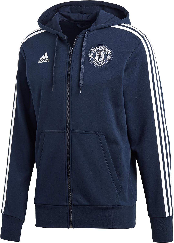 adidas Men's Manchester United 3s Full Zip Hoodie Hooded Jacket: Amazon.de:  Bekleidung