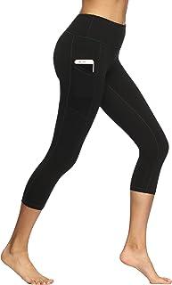 Fengbay Capri Leggings for Women,Yoga Capris with Pockets Yoga Pants Workout Pantsfor Women