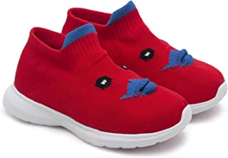 ASIAN Boy's Airsocks-02 Socks Shoes Sneakers,Ultra-Lightweight, Breathable, Walking,Sneakers,Loafers, Fabric Walking Shoes
