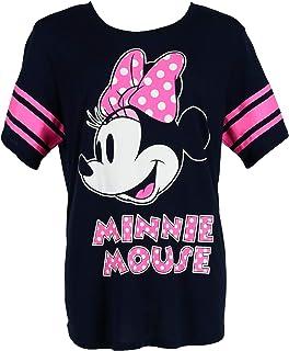 Disney Minnie Mouse Plus Size Short Sleeve Jersey Shirt