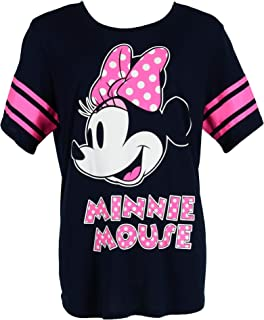Disney Minnie Mouse Plus Size Short Sleeve Jersey Shirt