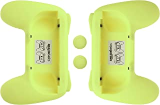 comprar comparacion AmazonBasics - Kit de empuñaduras para mandos Joy-Con de Nintendo Switch - Amarillo neón