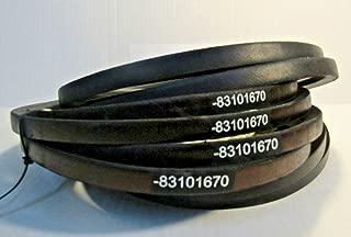 kuhn mower belts