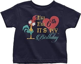 LeetGroupAU HEI HEI It's My 3rd Birthday Toddler T-Shirt Navy Blue