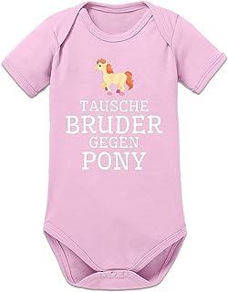 Shirtcity Tausche Bruder Gegen Pony Baby Strampler by