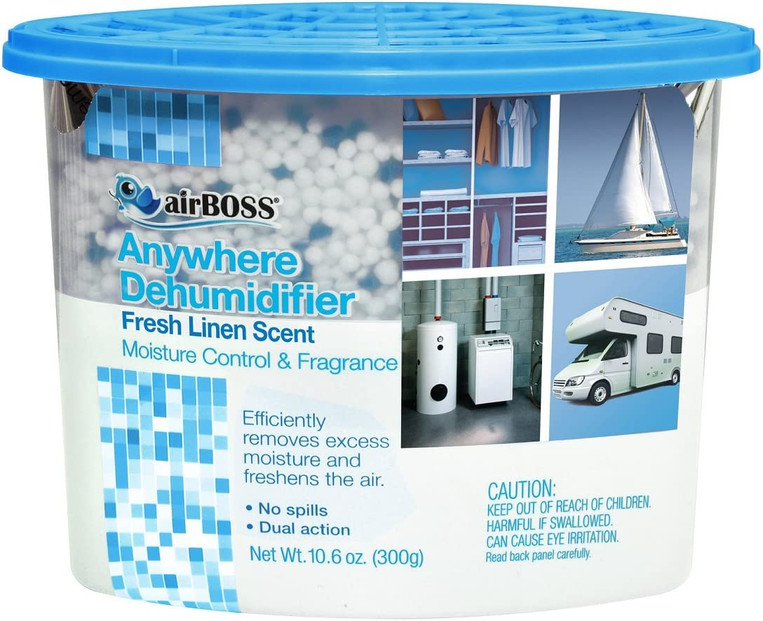 airBOSS Anywhere Dehumidifier Regular store Fights Mildew Odors Li Free shipping / New Fresh and