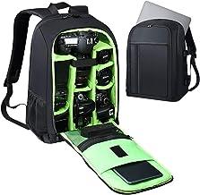 "Estarer SLR/DSLR Camera Backpack Waterproof for Nikon Canon Sony Digital Lens GoPro Accessories DJI Mavic Drone 15.6"" 15""L..."