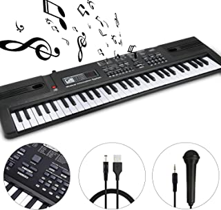 WOSTO 61 Key Piano Keyboard Portable Electronic Musical Keyboard for Kids Boy Girl