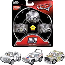 Mini Racers Silver Series Diecast 3-Pack Cars with Silver Natalie Certain