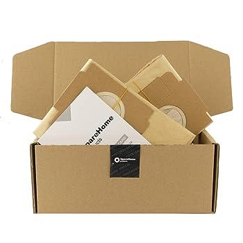 SpareHome 8 Bolsas de Alto Rendimiento HyperfilterPlus para Aspirador Moulinex Powerclean: Amazon.es: Hogar